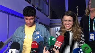 Primeras declaraciones de Amaia y Alfred tras Eurovisión: