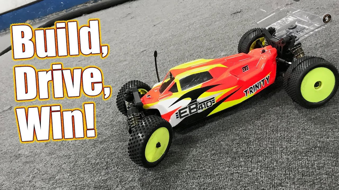 4wd Buggy Rc Dominate At The Track! - Tekno Rc Eb410 1/10th 4wd