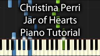 Christina Perri - Jar of Hearts Tutorial (How To Play On Piano)