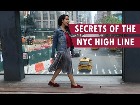 Secret History Of The NYC High Line And Instagram Spots