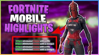 Popup Cup 30 Points On Mobile | Fortnite Mobile Highlights | iPad Pro 2018