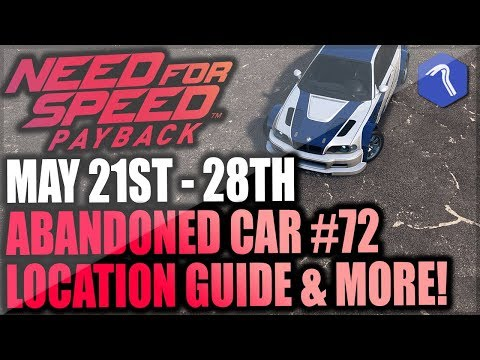 Need For Speed Payback Abandoned Car #72 - Location Guide + Gameplay - MOST WANTED BMW M3 (GIVEAWAY)