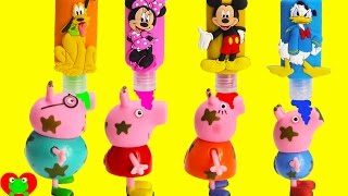 Peppa Pig Magical Muddy Surprises with Mickey Mouse Bath Soaps