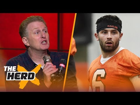Michael Rapaport talks Browns QB Baker Mayfield on HBO's Hard Knocks, LeBron's Cavs drama | THE HERD