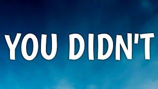 Brett Young - You Didn't (Lyrics)