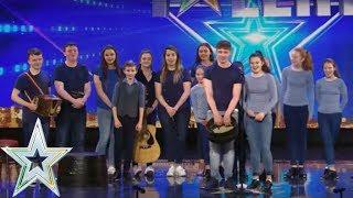 Atlantic Rhythm storm the stage | Auditions Series 1 | Ireland's Got Talent