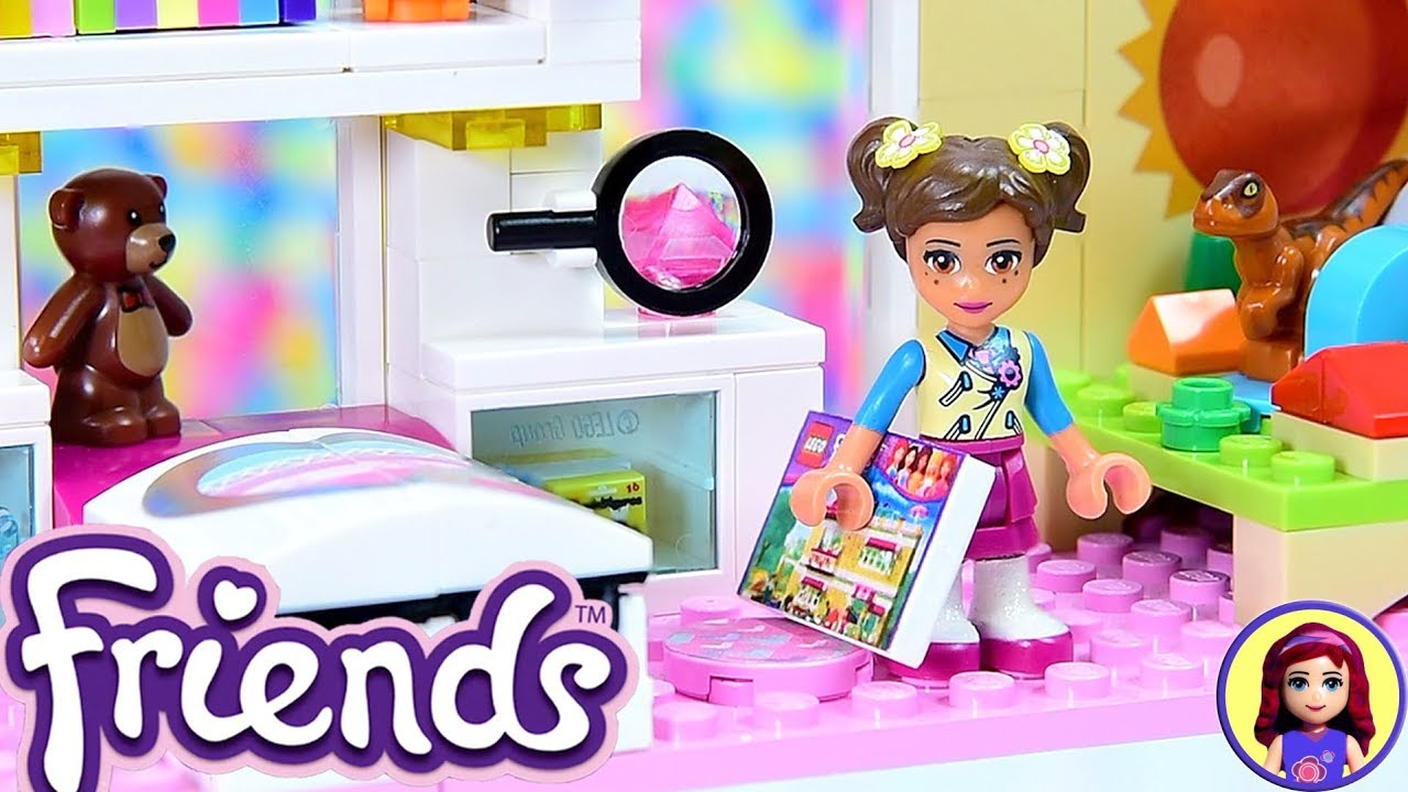 Room 2 Build Bedroom Kids Lego: Lego Friends Little Olivia's Toddler Bedroom