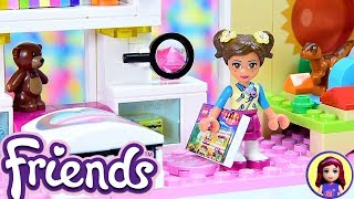 Lego Friends Little Olivia's Toddler Bedroom - Custom Girls Room Renovation DIY Craft