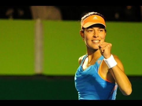 [HD] Ana Ivanovic vs Caroline Wozniacki Monterrey 2014 Highlights