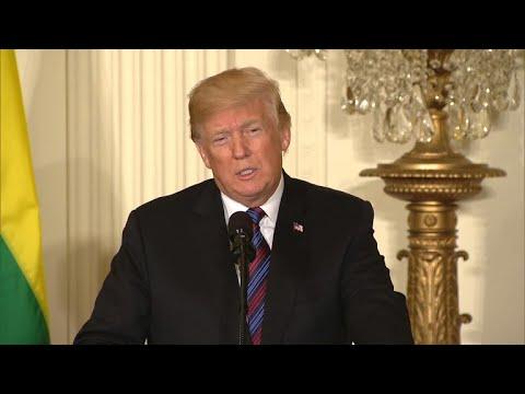 Trump calls for militarizing U.S.-Mexico border