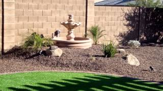 Arizona Landscape Design Backyard remodel