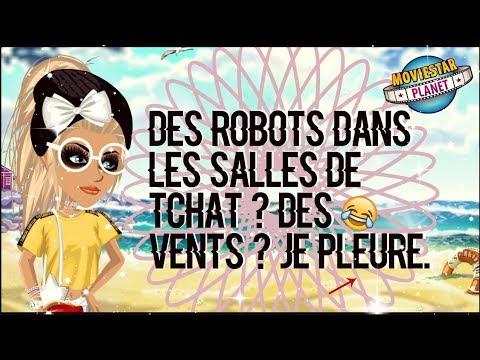 DES ROBOTS DANS LES SALLES DE TCHAT ? DES VENTS ? JE PLEURE.