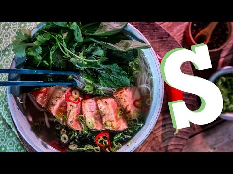 Salmon Pho: #foodporn