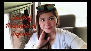 SPENDING HOLYWEEK IN SAGADA | Day 1  Travel Vlog || Simply Mhyles😊💕