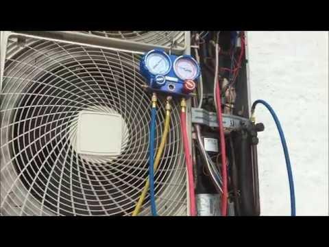 Daikin short of R410A refrigerant