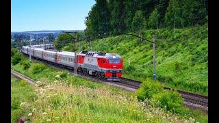 На поезде Москва-Владивосток Фильм 10 Ишим-Омск(часть 2)