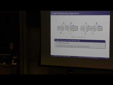 ICAPS 2017: A Comparison of Cost Partitioning Algorithms for Optimal Classical Planning