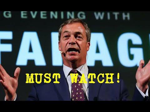 """TOO HOT TO HANDLE"" - Nigel Farage's Epic Speech that Silenced EU"