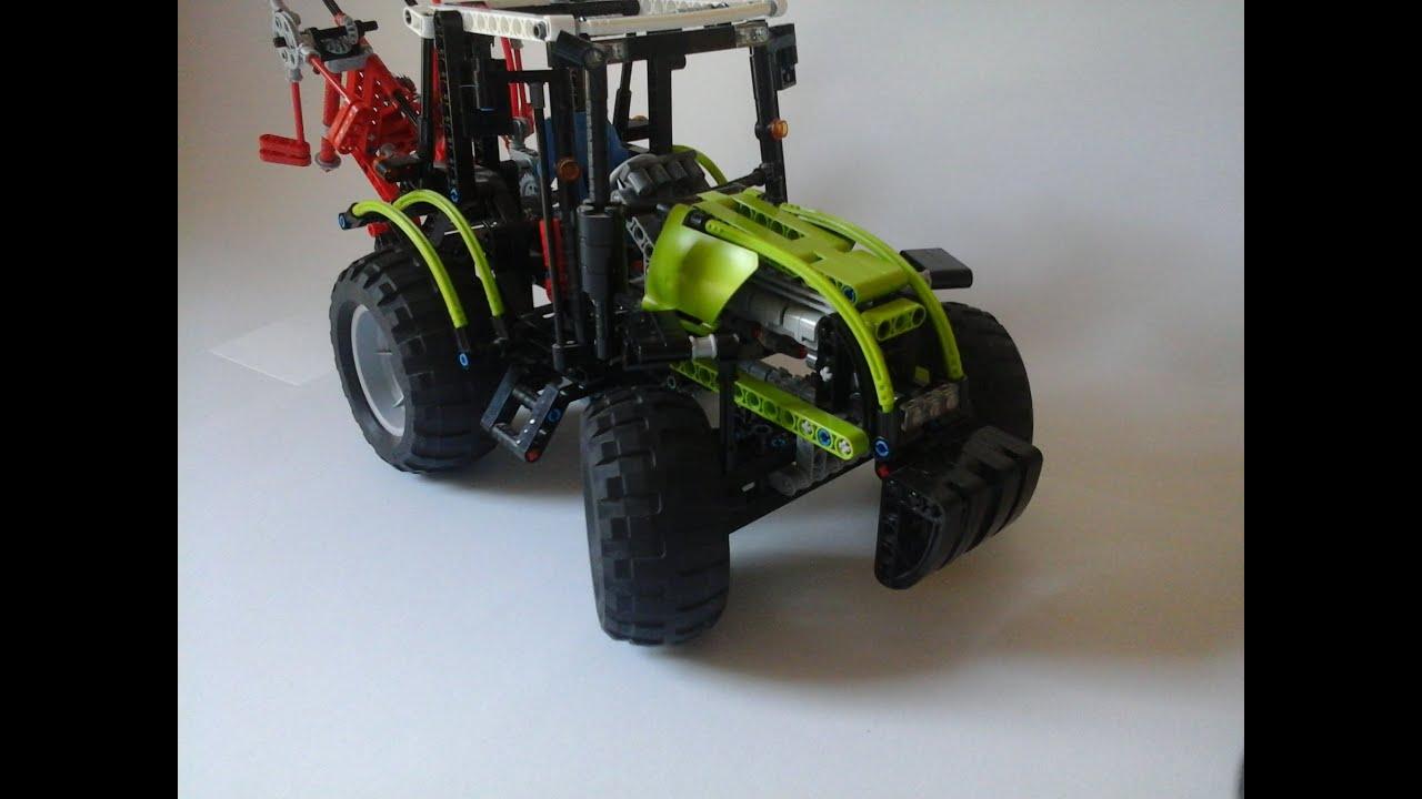 lego technic gro er traktor 8284 youtube. Black Bedroom Furniture Sets. Home Design Ideas