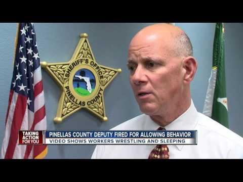 Deputy fired for having sex in Pinellas Jail