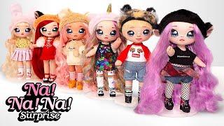 Unboxing Na! Na! Na! Surprise 2-in-1 Fashion Doll & Plush Pom dengan Balon Konfeti