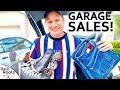 EPIC GARAGE SALE FINDS - Flipping Them on eBay!