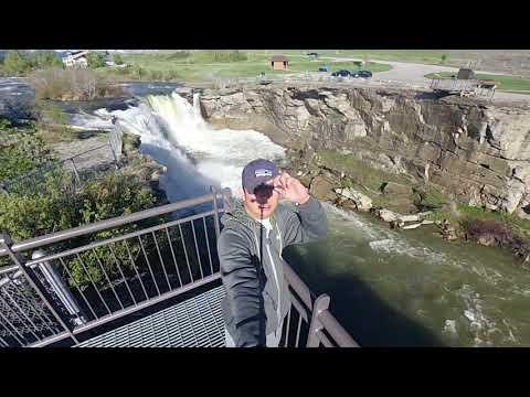 Lundbreck Falls Crowsnest Pass