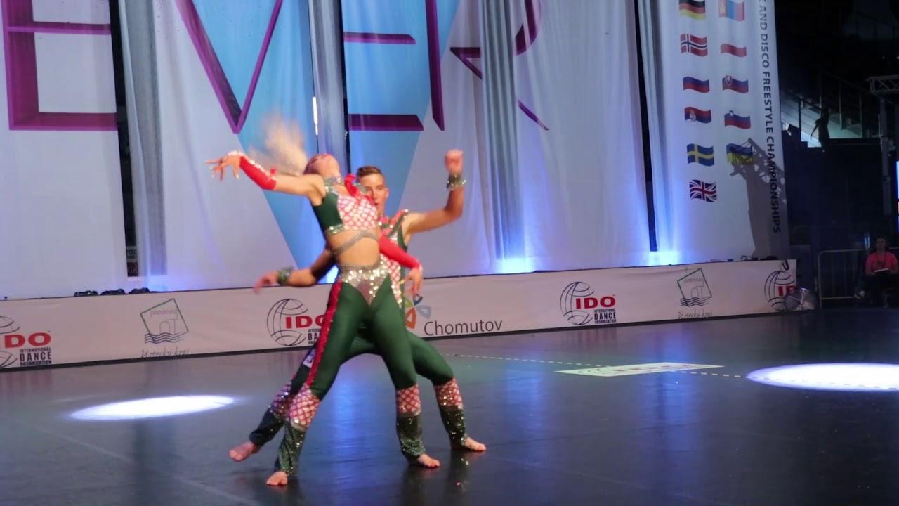 ZORIN NIKITA and KONSTANTINOVA KSENIIA | Disco Dance World Championship 2019