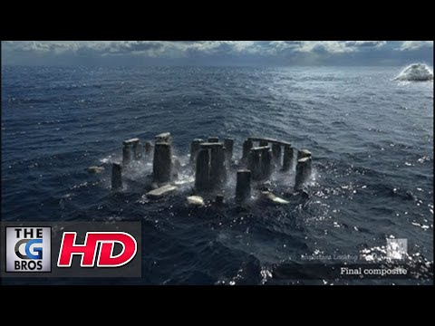 "CGI VFX Breakdowns (Epic Water Simulation!) : ""OLF Ingeniørkunst I Havet"" by - ILP"