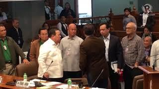 Gordon, Trillanes in heated exchange during August 31 Senate hearing