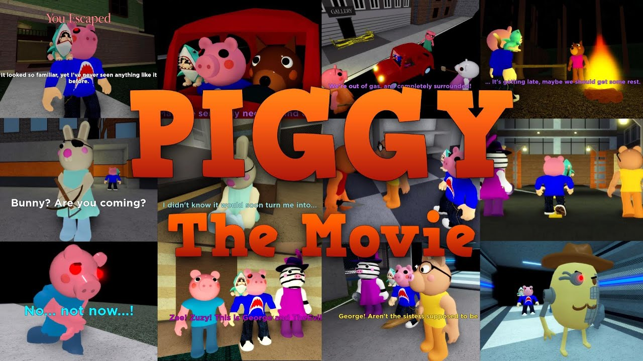 Piggy - The Movie (All Cutscenes & Endings)