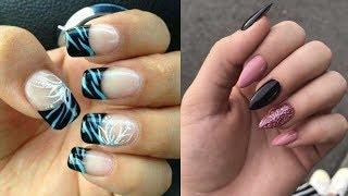 How to Polish Nails at Home + Simple Nail Art Tutorial #3