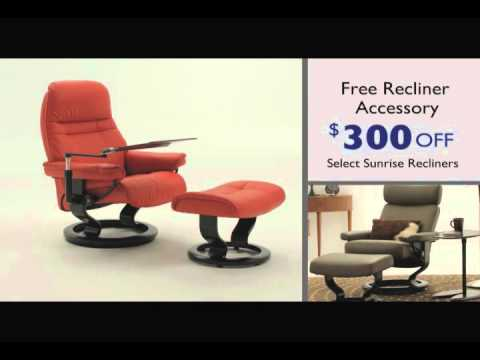 Relaxsessel stressless  Stressless Sunrise Promotion 2012- $300 Off Sunrise Recliners ...