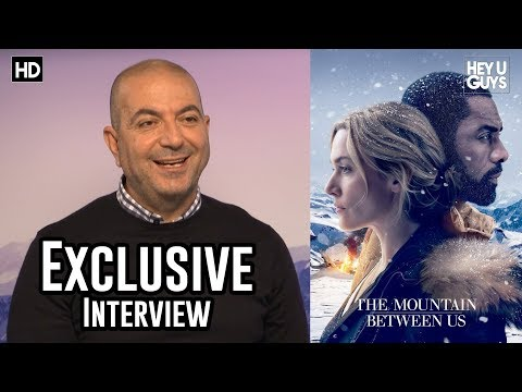 The Mountain Between Us | Director Hany Abu-Assad Exclusive Interview