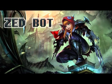 Annie Bot - Trying out Zed [KOREAN PLAYS]