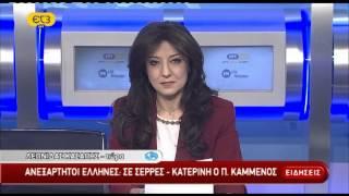 Δελτίο ειδήσεων ΕΡΤ ΕΡΤ3 16/01/2015