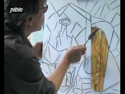 Apprendre le Cusbisme - Peindre à la façon Cubisme - YouTube