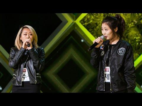 Lee Soo Jung & Yoo Jei - Part-Time Lover 《KPOP STAR 5》K팝스타5 EP11