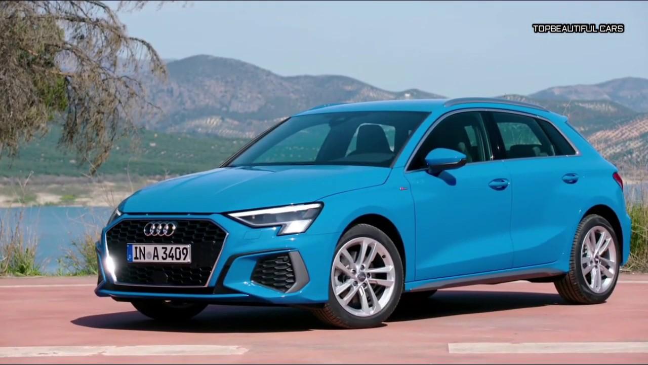 2021 Audi A3 Sportback 30 TDI S Line Exterior Interior and ...