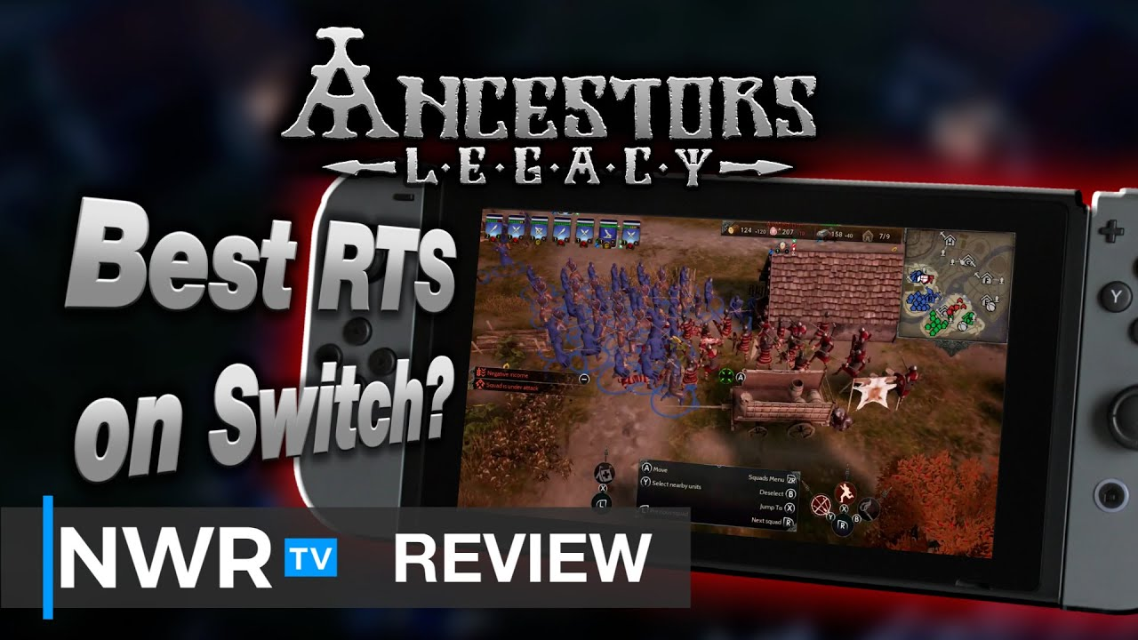The Best RTS on Switch - Ancestors Legacy (Switch) Review (Video Game Video Review)