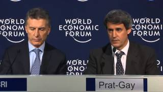 MACRI : resumen en Español : World Economic Forum 2016