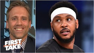 Max admits he was wrong for calling Carmelo 'washed'   First Take