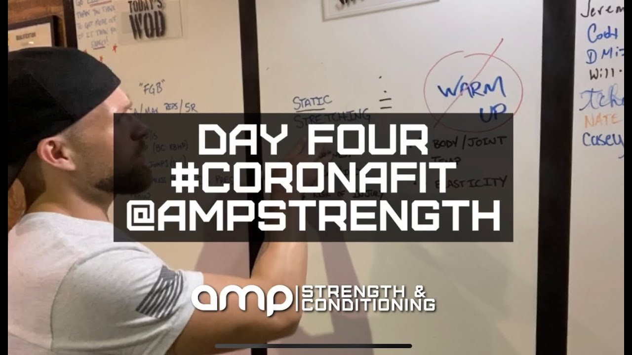 AMP Day Four - At Home Workout