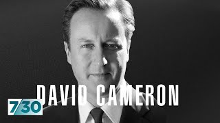 Former British Prime Minister David Cameron talks about Brexit and climate change   7.30