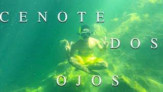 Découverte du Cenote DOS OJOS 🐠🐟¬ TULUM, Riviera Maya Mexique ¬ Globe Trotter