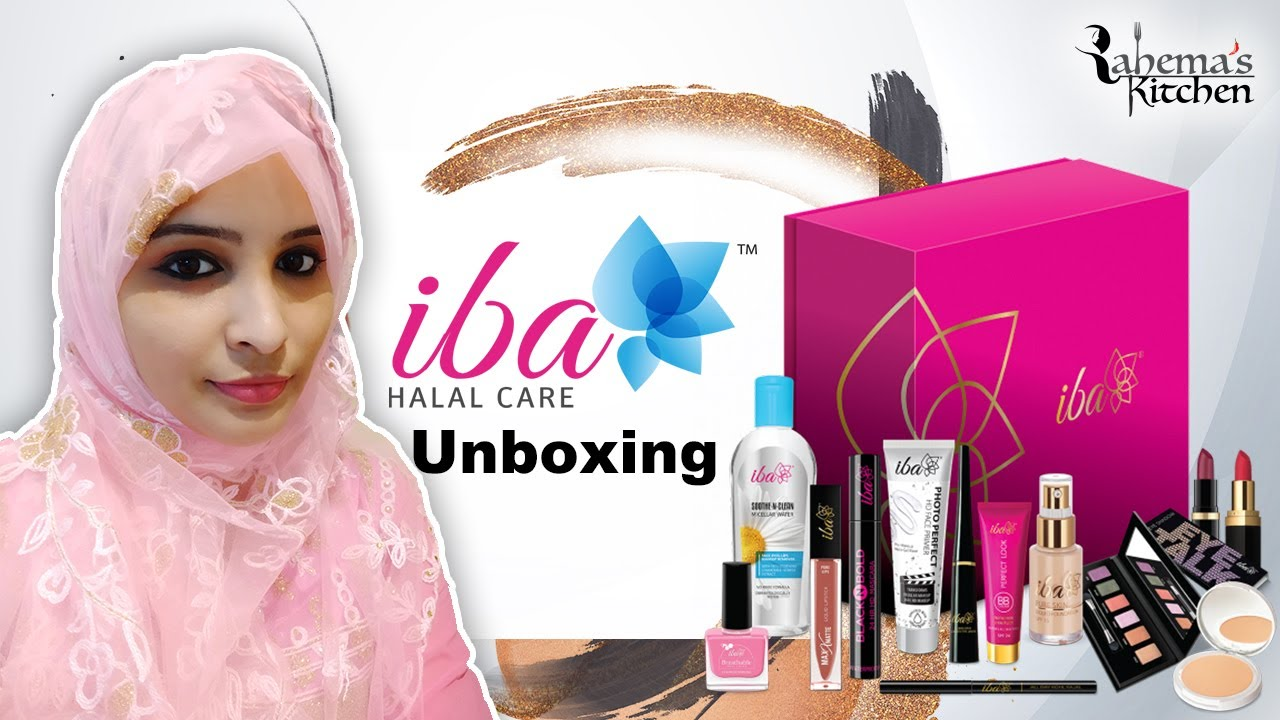 Iba Cosmetics Unboxing & Review   Iba Halal Care Product Review in tamil   rahema   Makeup vlog