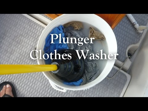 Plunger Clothes Washer