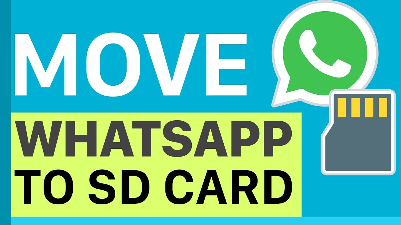 How To Move Whatsapp Data To External Sd Card My Instant Search