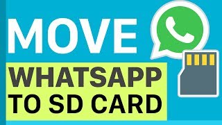How to move WhatsApp + Data to external SD Card  | My Instant Search