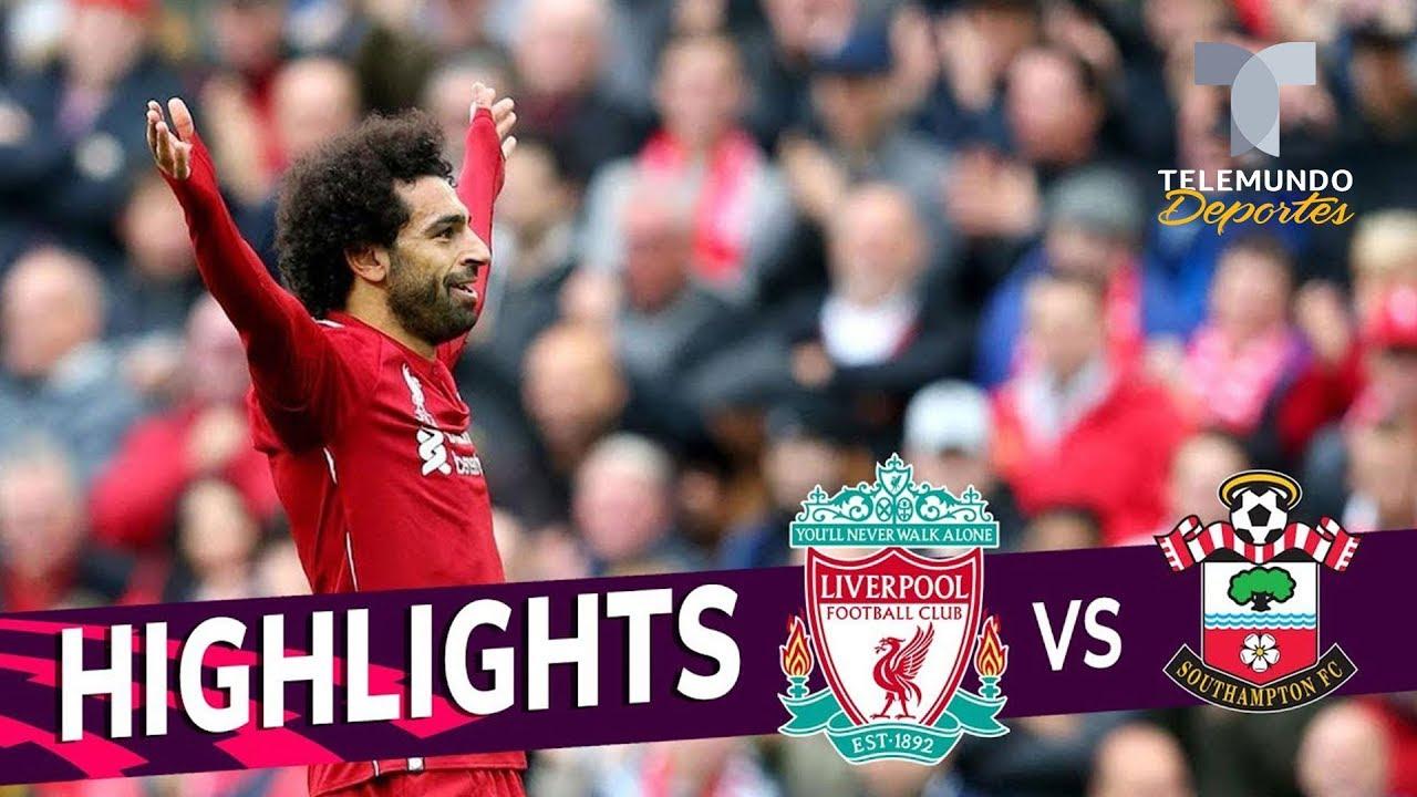 El resumen del Liverpool vs. Southampton de la Premier League ...
